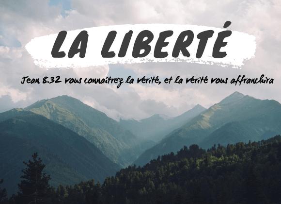 17.05.2020 Vivre la vraie liberté