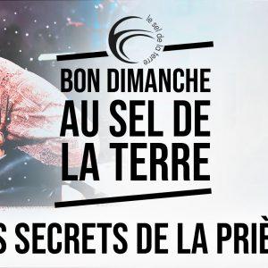 31.01.2021 Les secrets de la prière